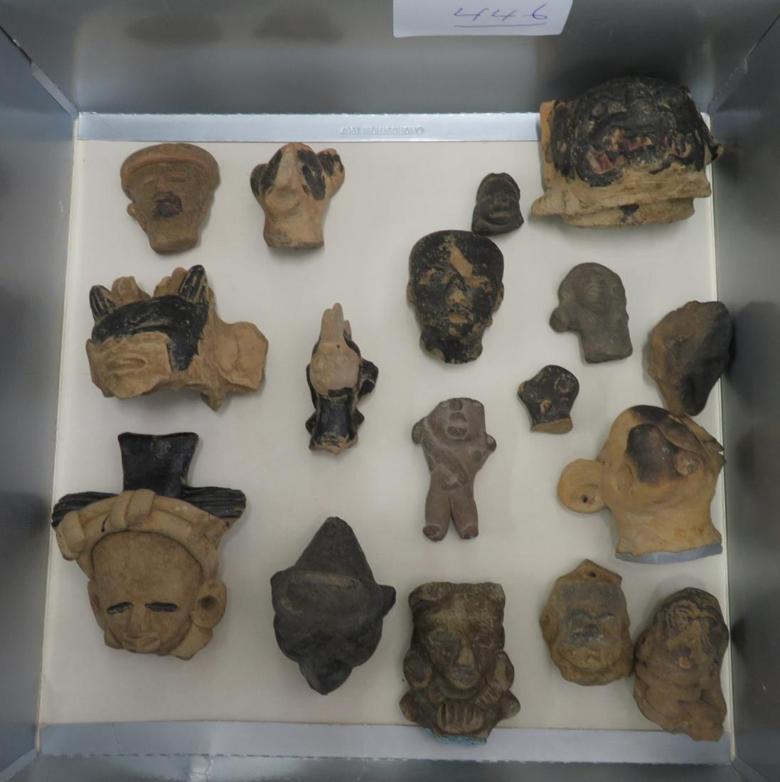 Pre-Columbian Black Head Collection