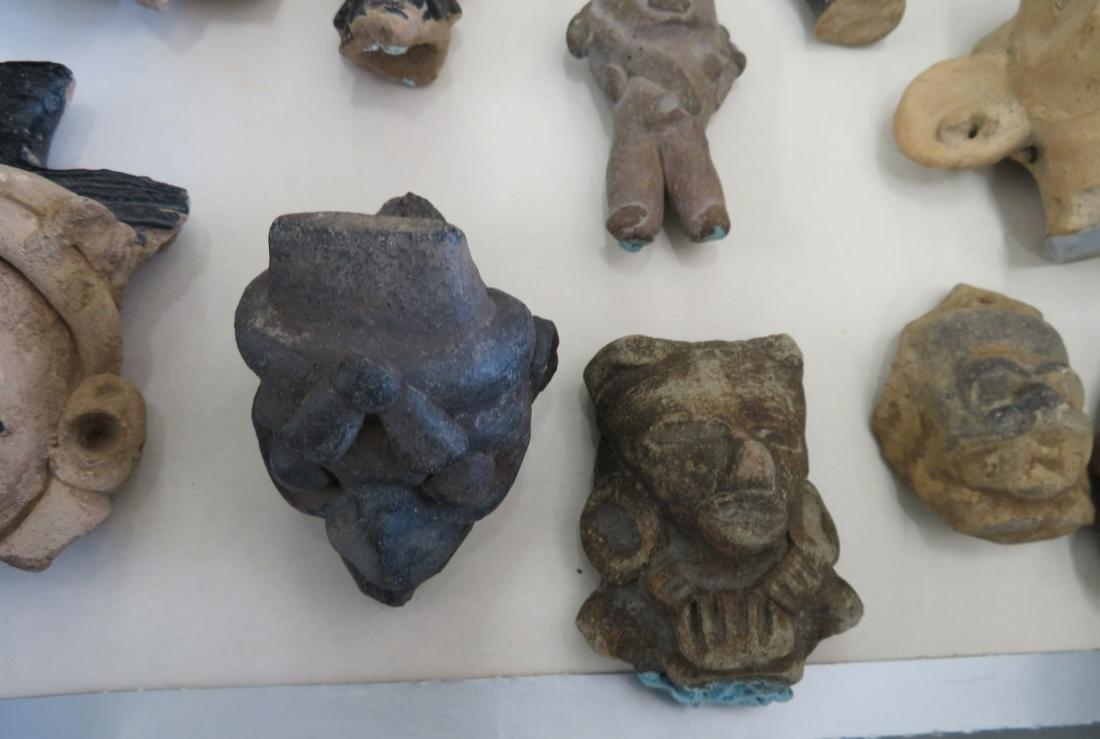 Pre-Columbian Black Head Collection - 6