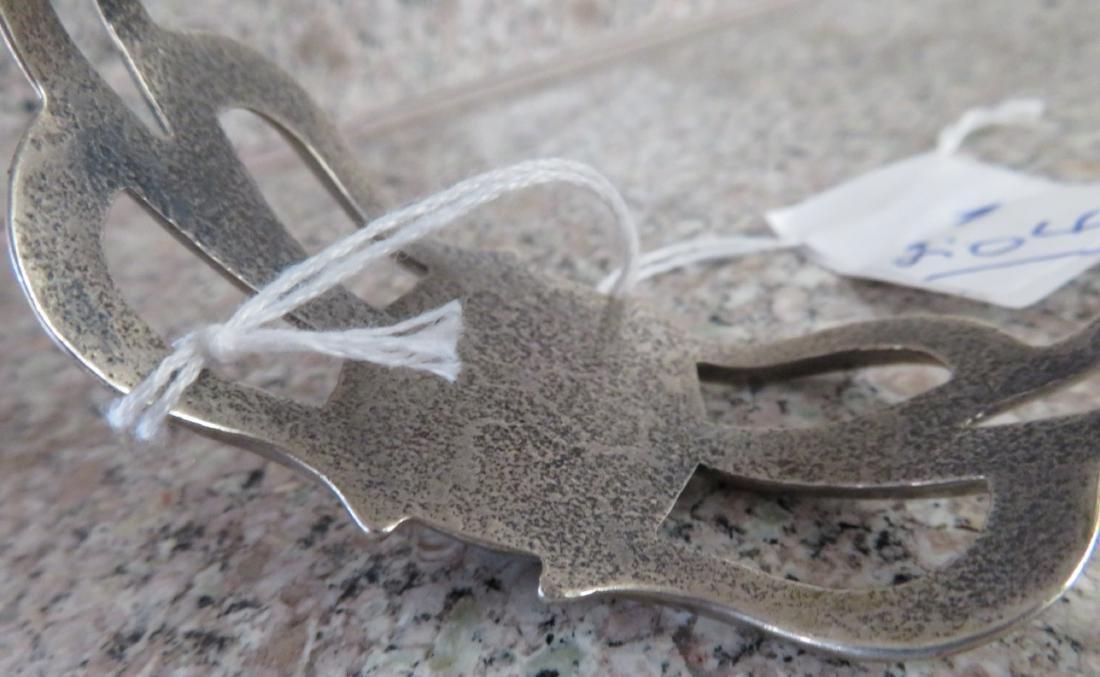 Sandcast Silver Bracelet - 9