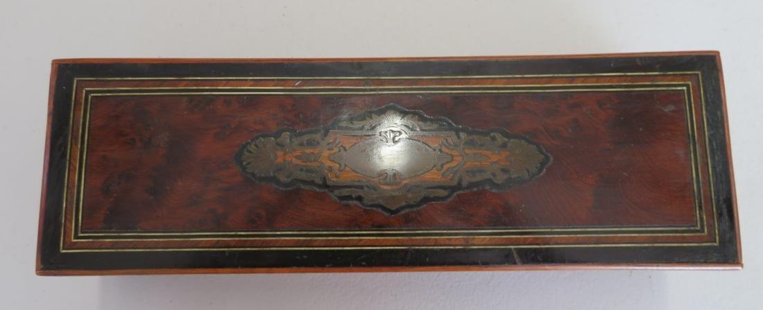 Burl Wood Glove Box - 2