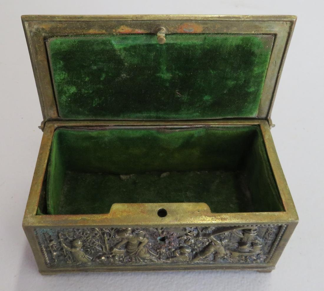 French Brass Box - 12