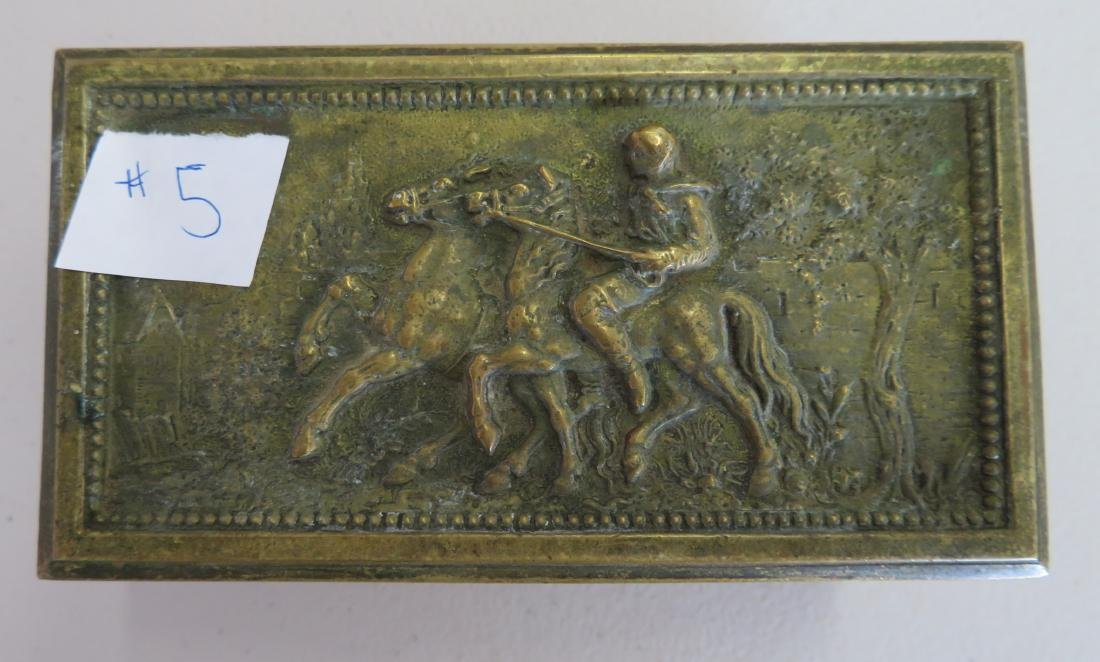 French Brass Box - 2