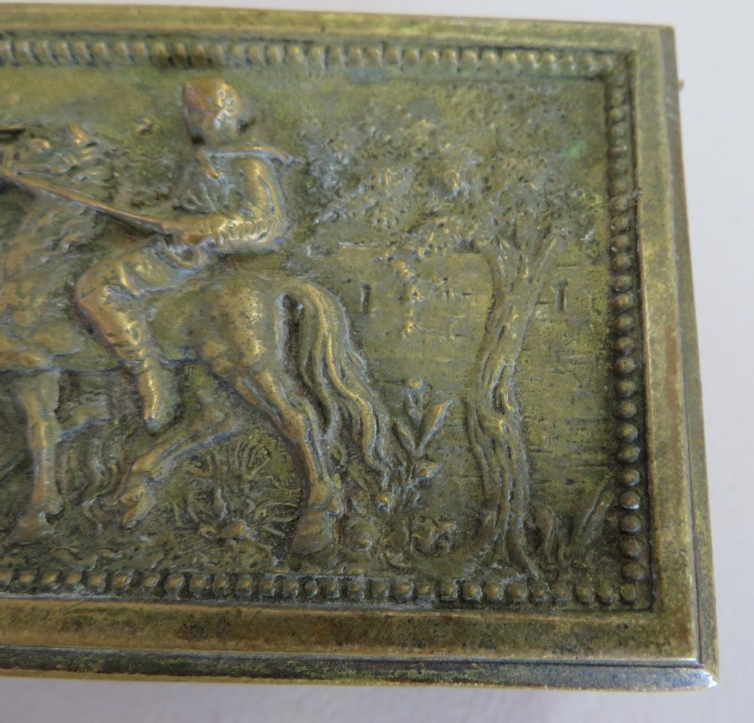 French Brass Box - 3