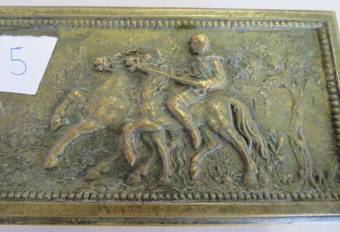 French Brass Box - 4