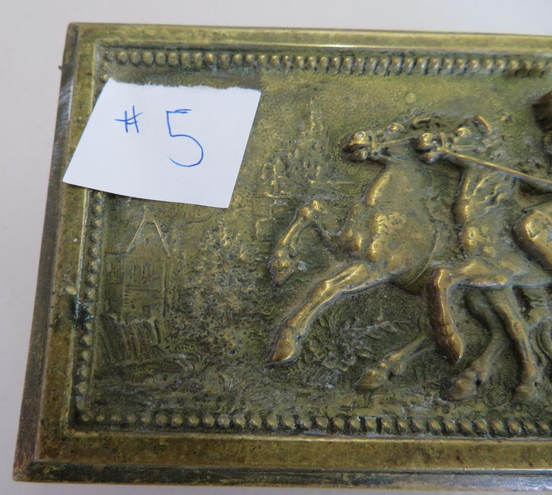 French Brass Box - 5
