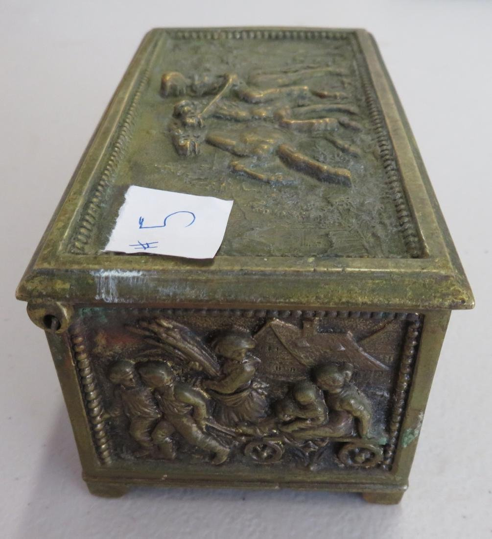 French Brass Box - 6