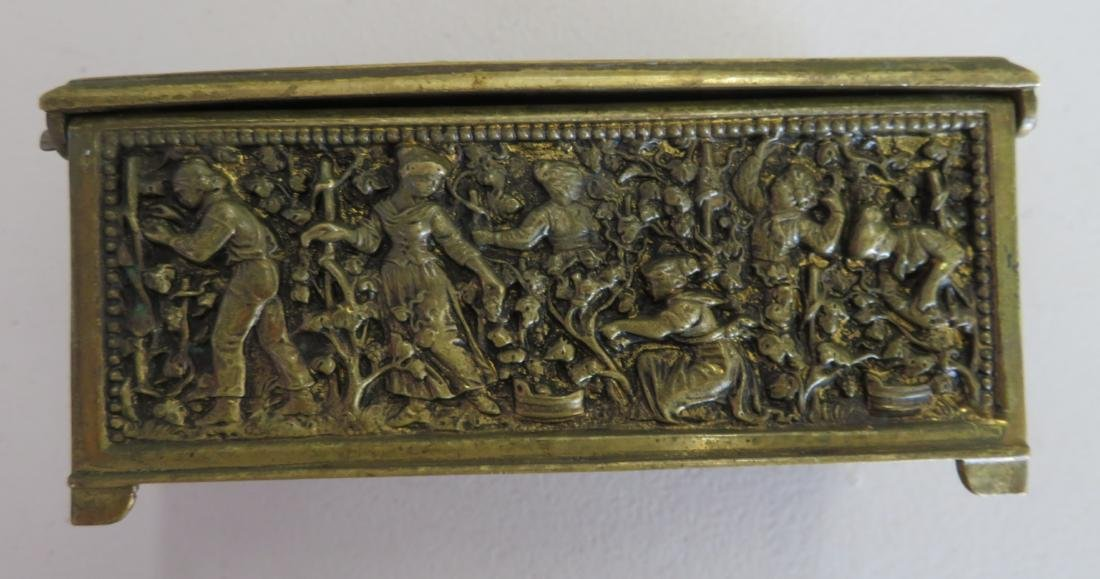French Brass Box - 7