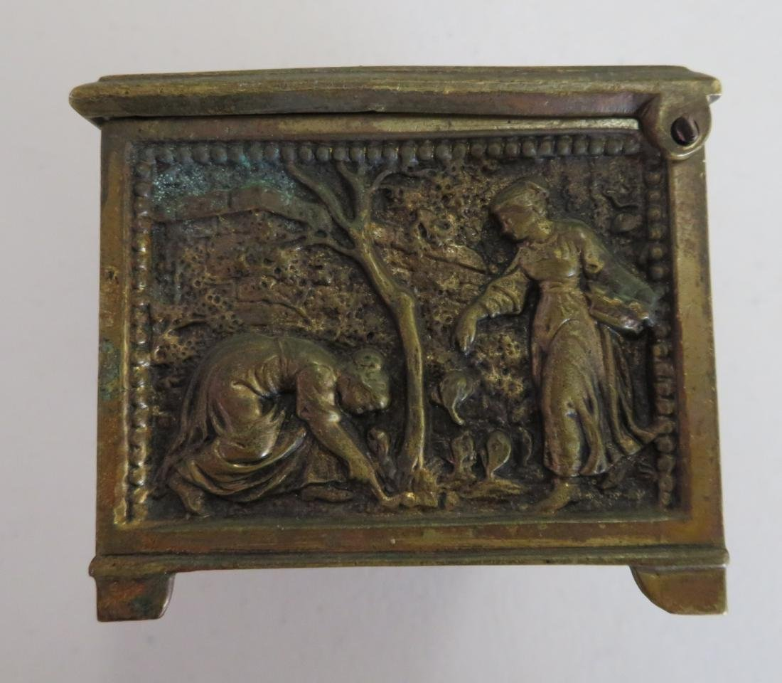 French Brass Box - 8