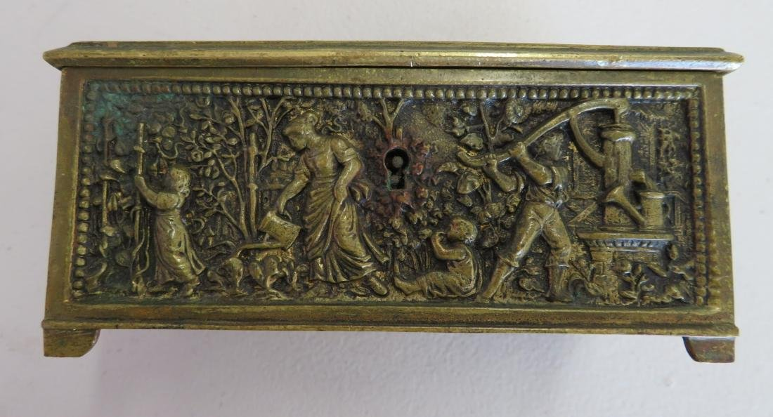 French Brass Box - 9