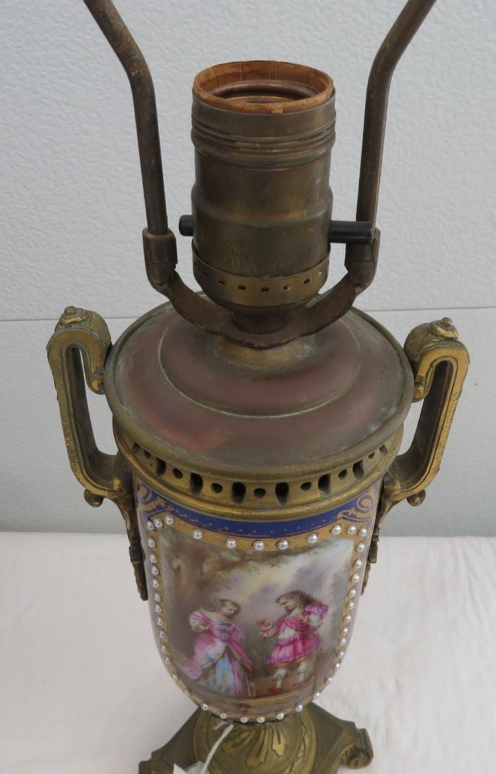 Antique Sevres Lamp - 4
