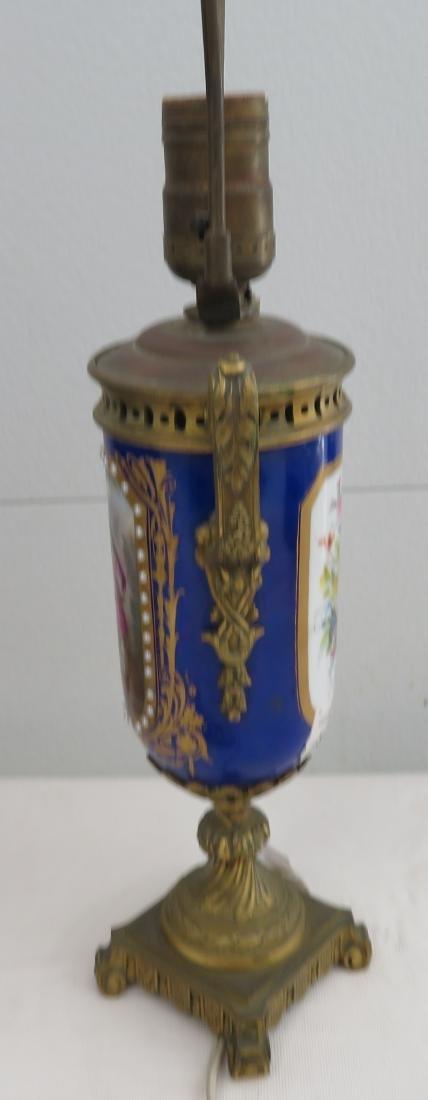 Antique Sevres Lamp - 7