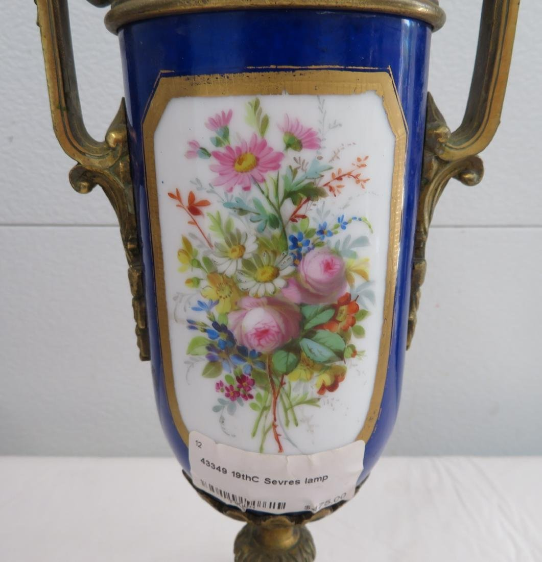 Antique Sevres Lamp - 8