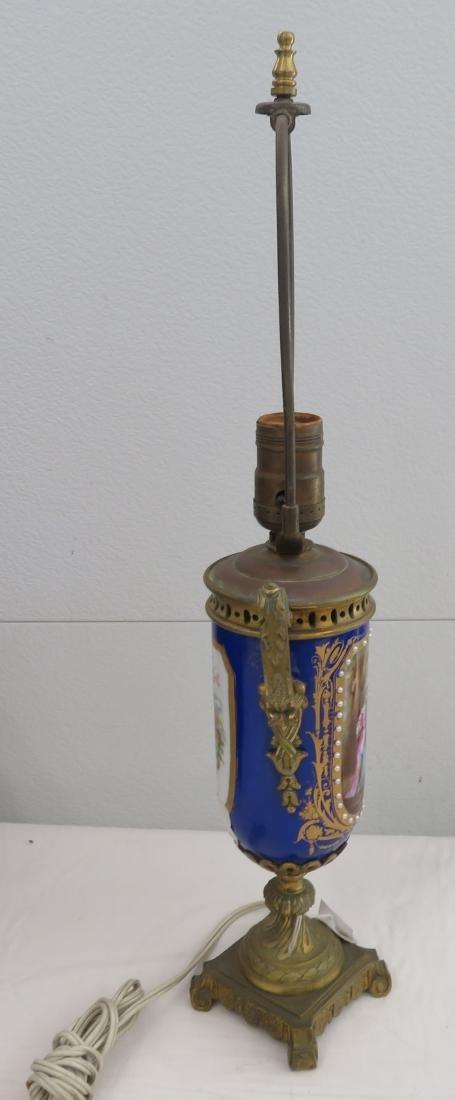 Antique Sevres Lamp - 9