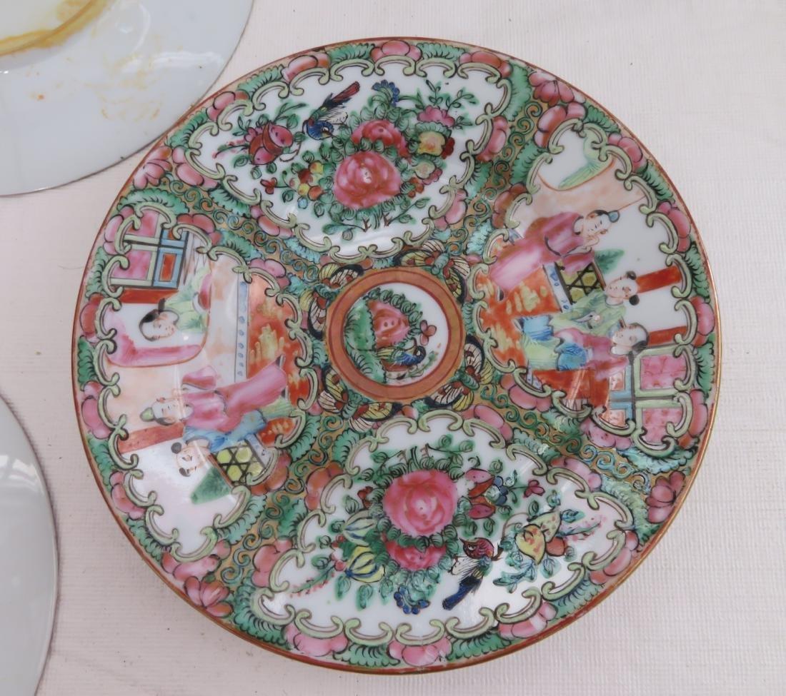 10 Chinese Dessert Plates - 10