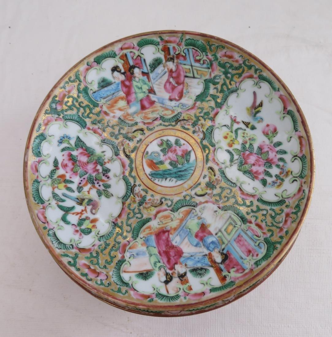 10 Chinese Dessert Plates - 5