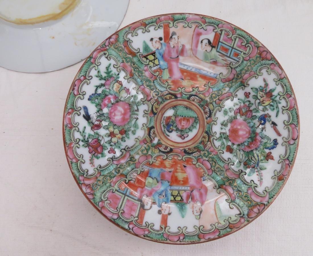 10 Chinese Dessert Plates - 9