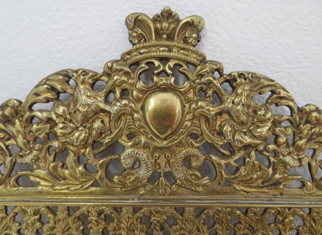 Antique Mirror in Ornate Frame - 2