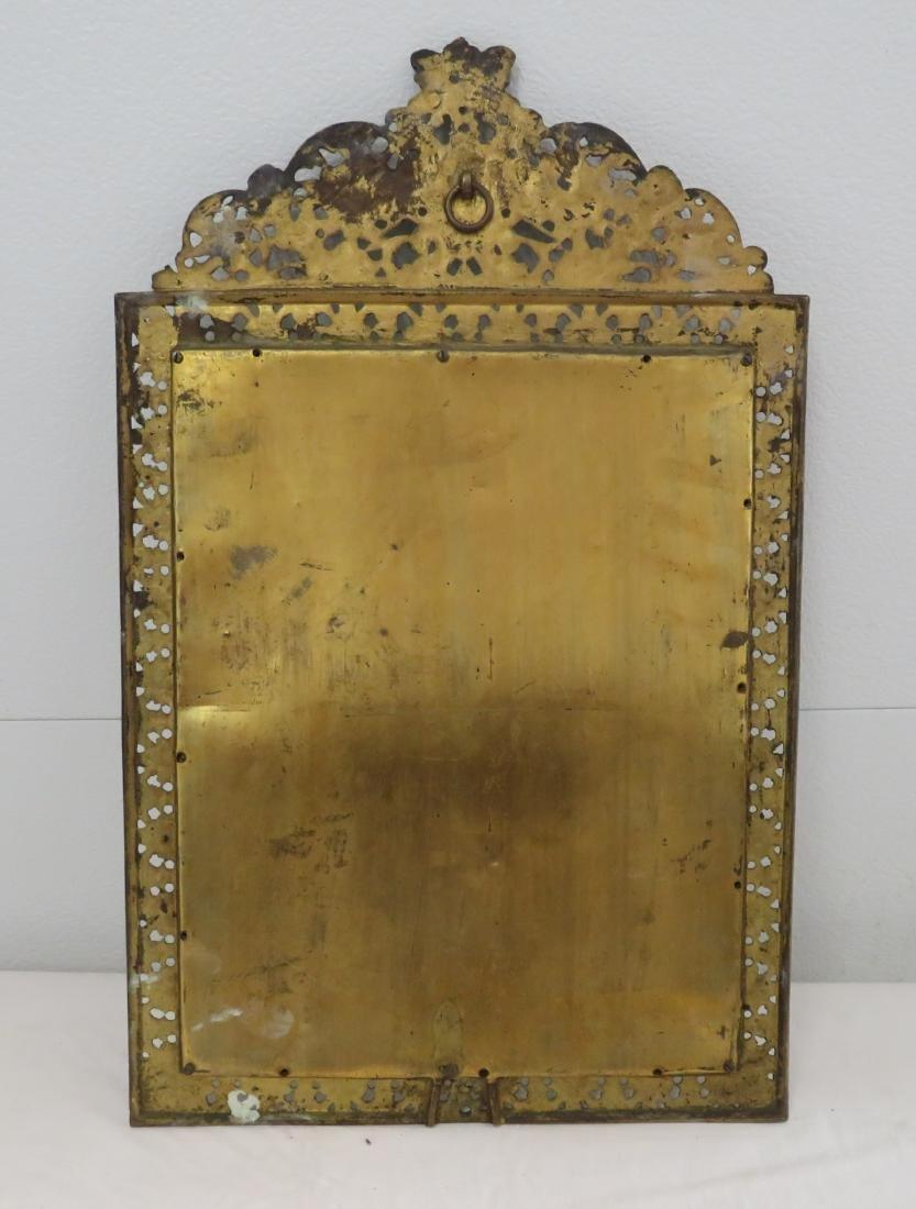Antique Mirror in Ornate Frame - 7