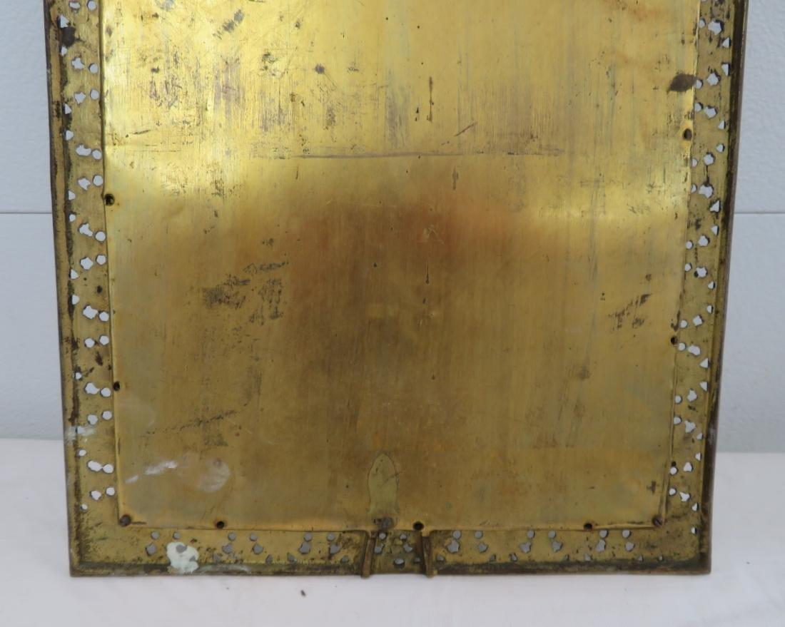 Antique Mirror in Ornate Frame - 9