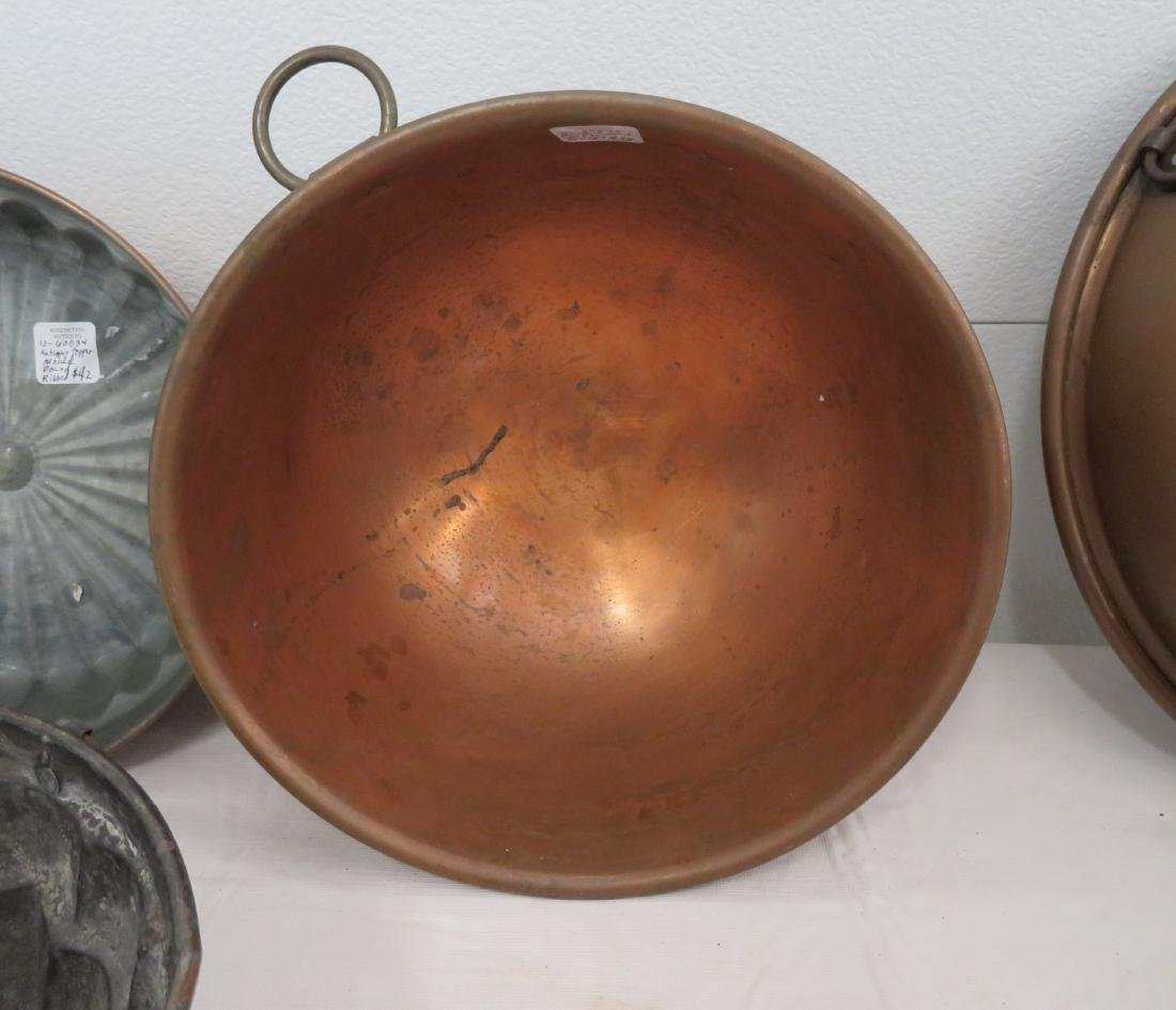 8 Copper Molds & Pots - 3