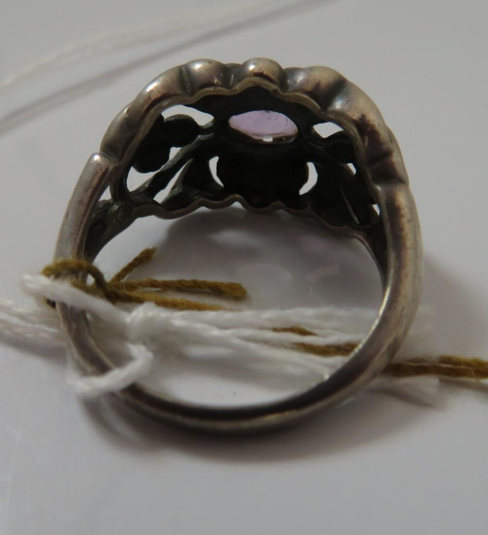 Sterling Silver Bracelets & Ring - 7