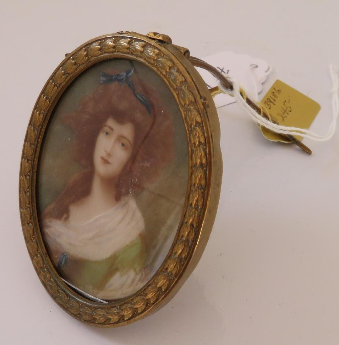 English Handpainted Miniature