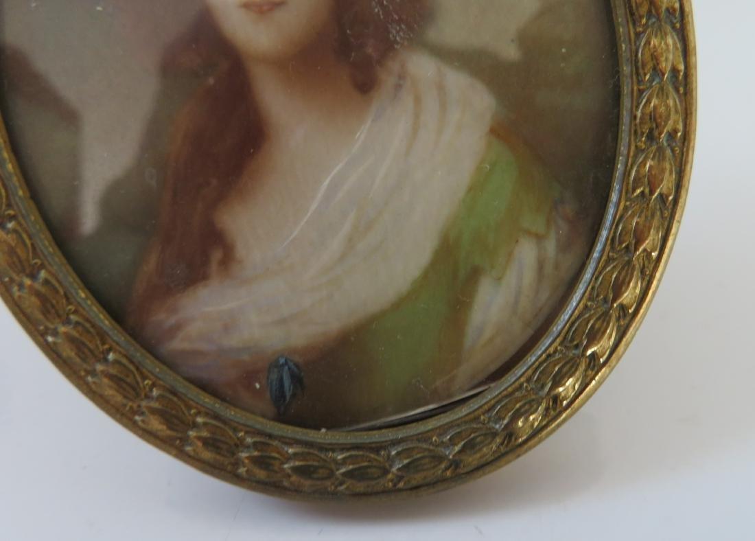 English Handpainted Miniature - 4