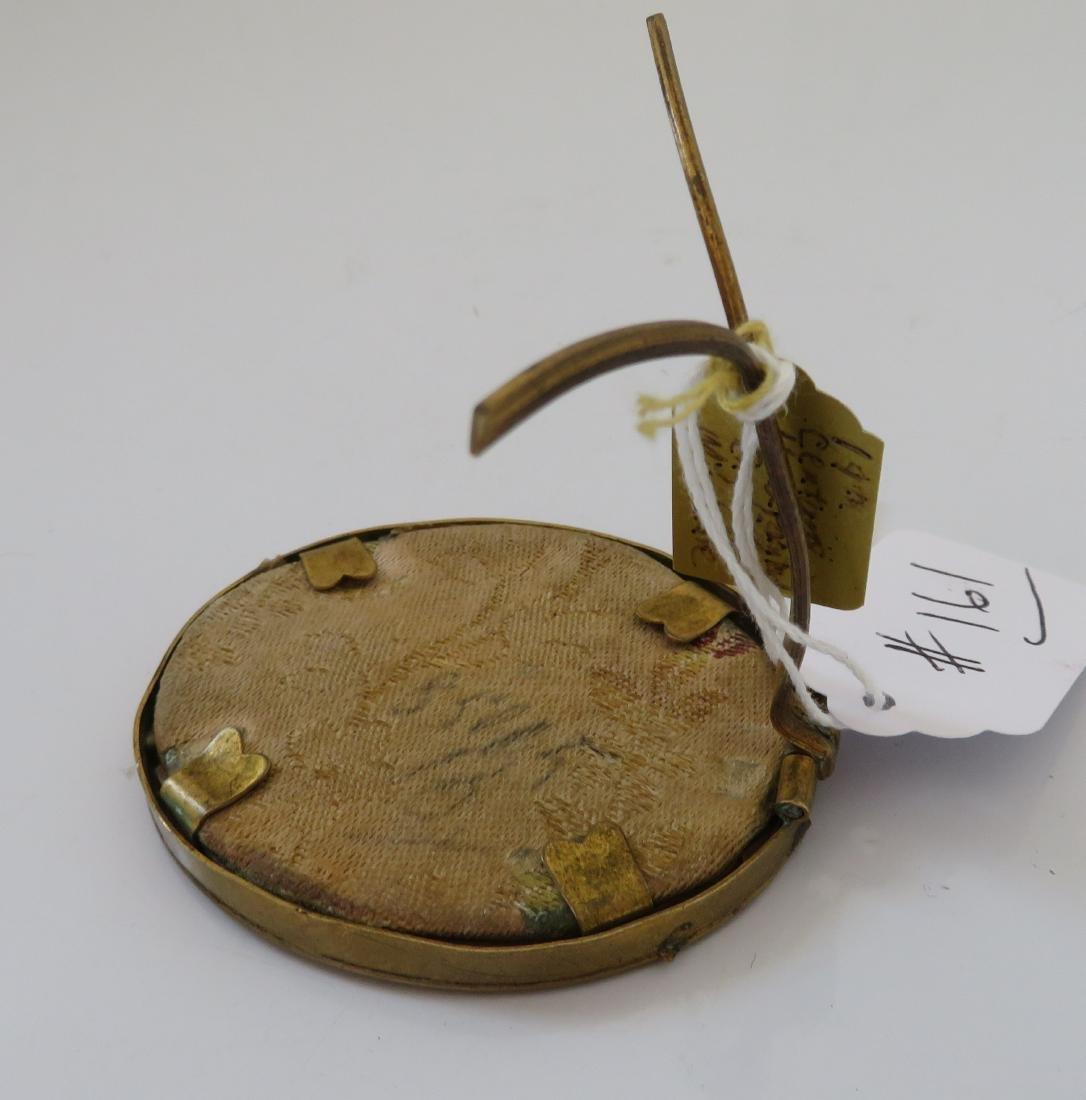 English Handpainted Miniature - 8