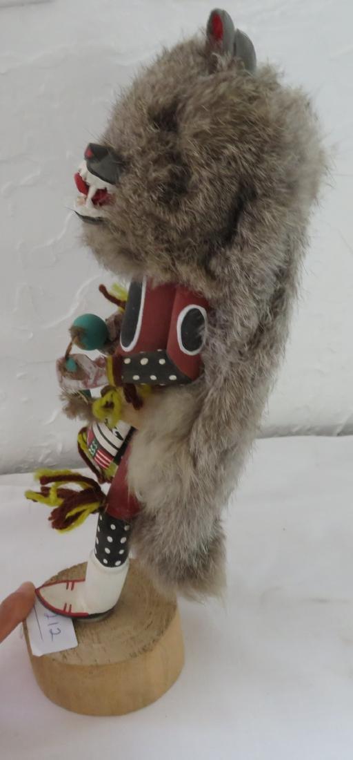 Wolf Kachina - 10