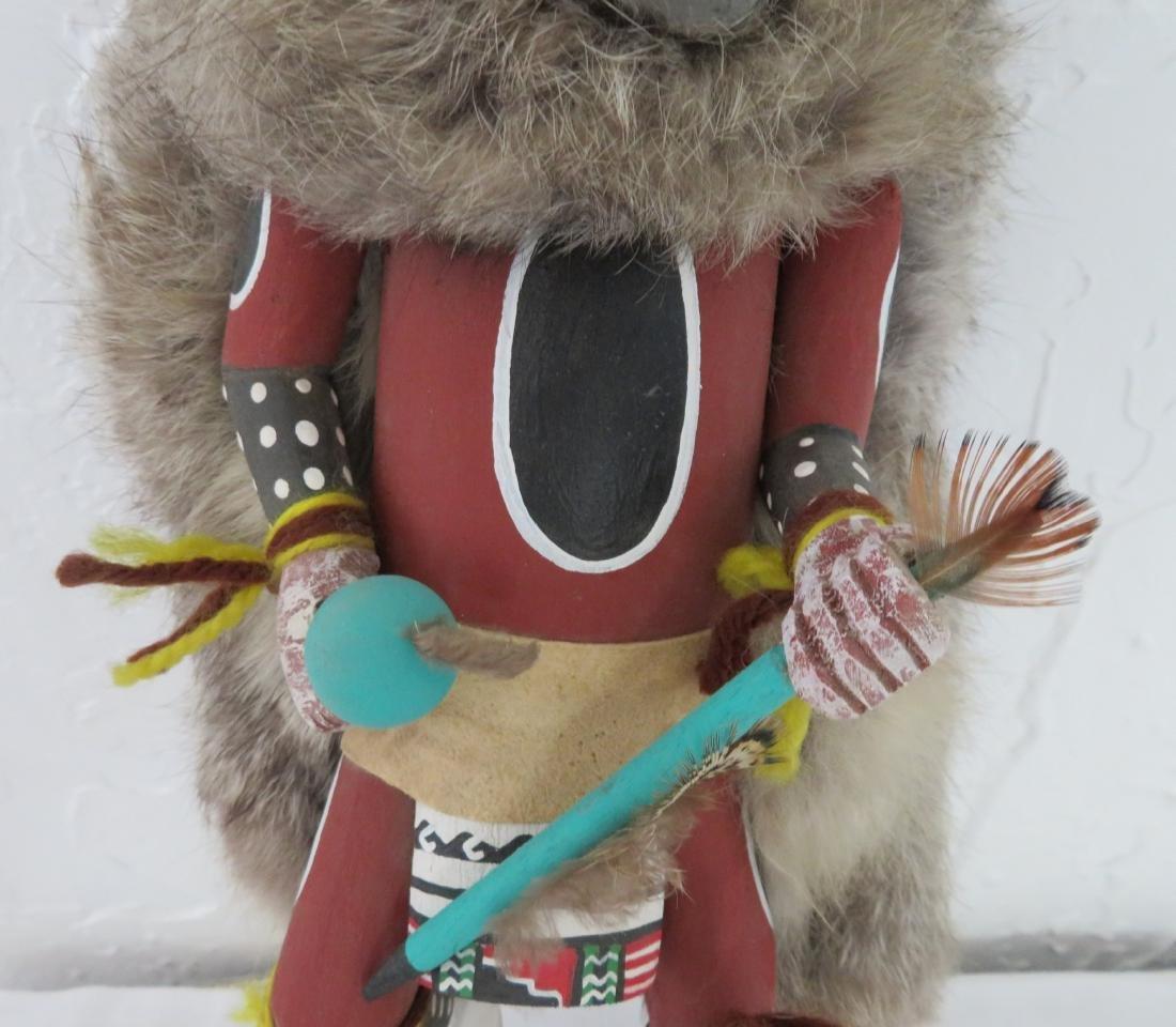 Wolf Kachina - 3
