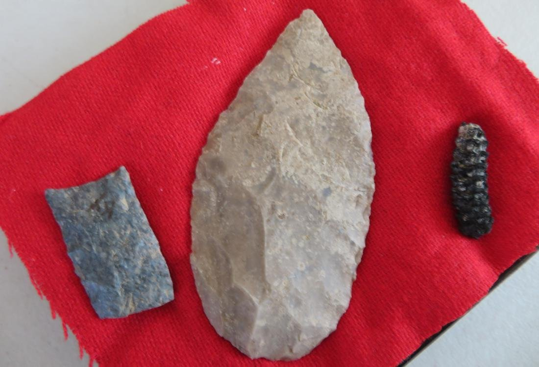 Collection of Flint Artifacts - 6