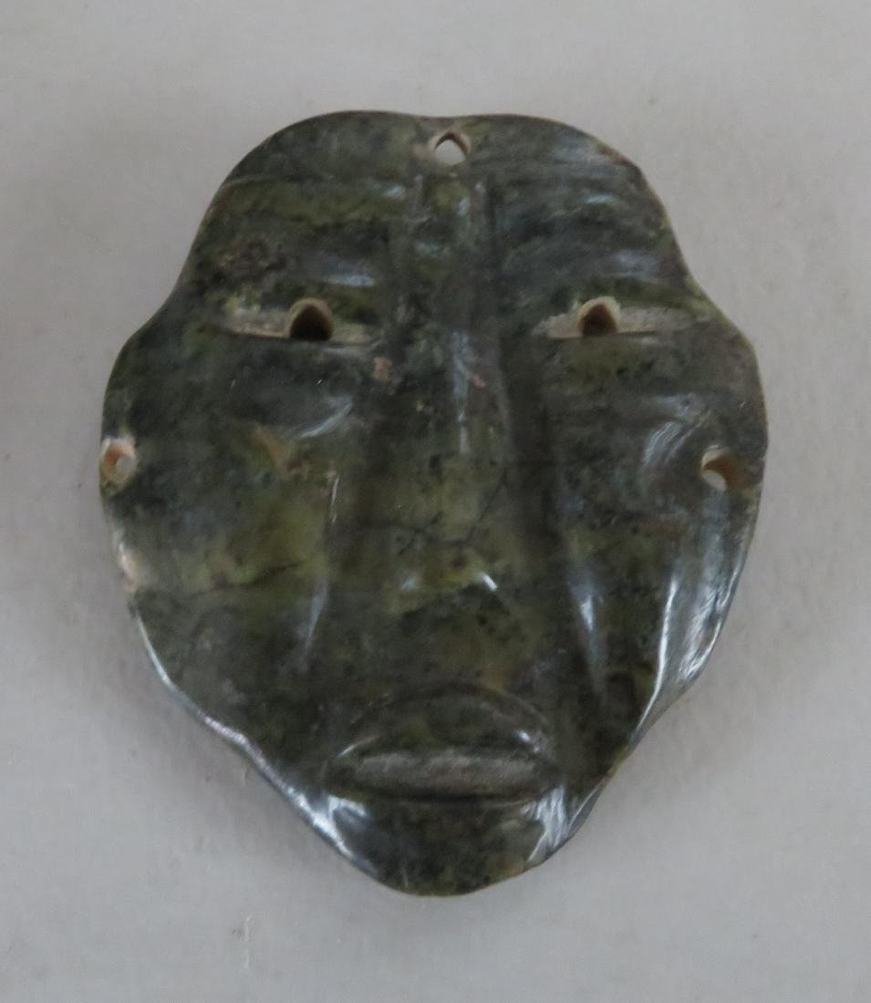 Olmec Jade Mask