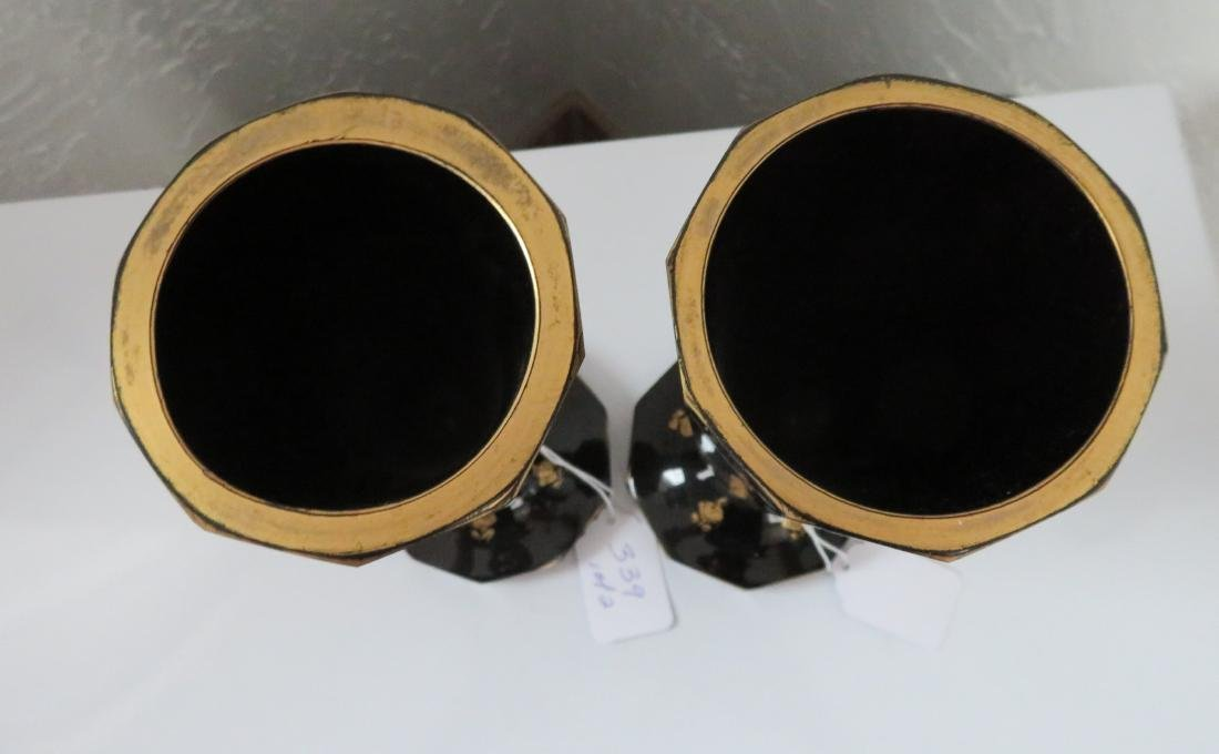 2 Black Amethyst Goblets - 5