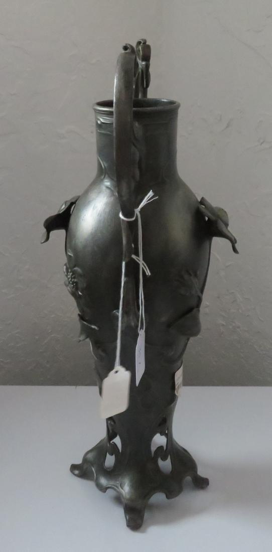Art Nouveau Spelter Sculpture - 10