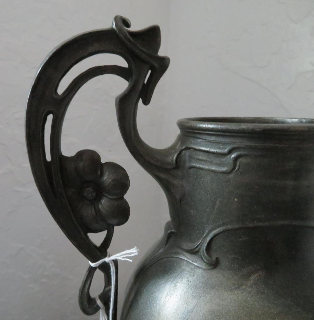 Art Nouveau Spelter Sculpture - 3