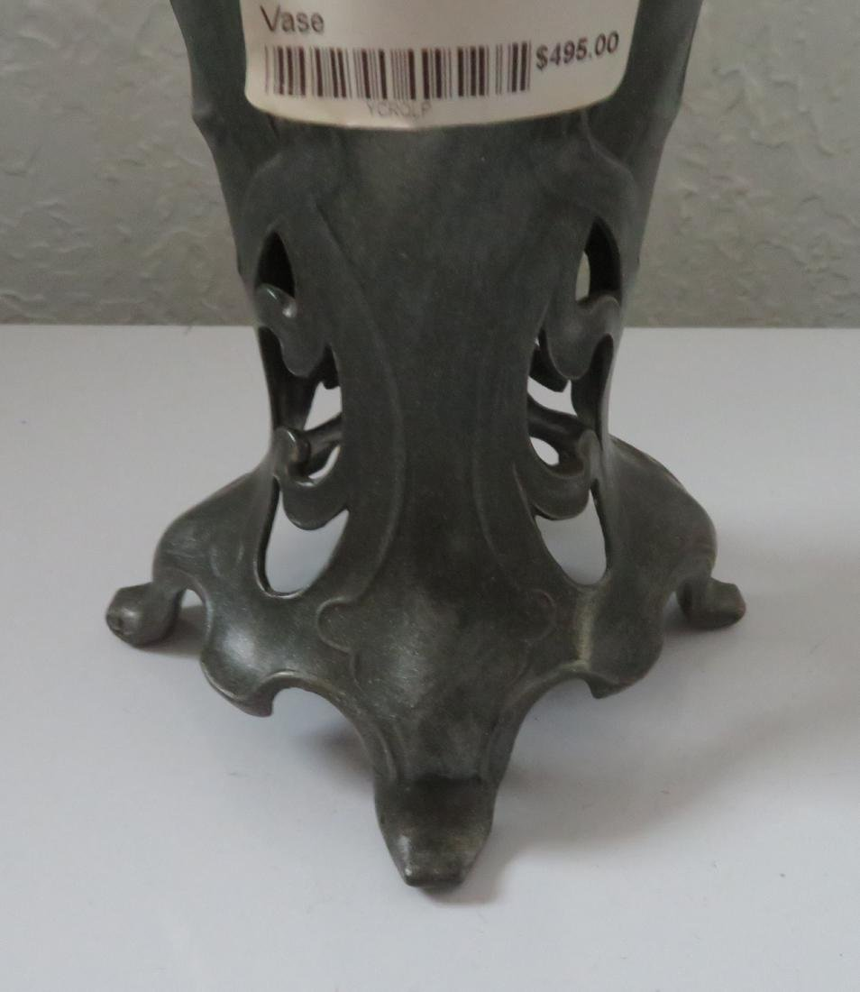 Art Nouveau Spelter Sculpture - 6
