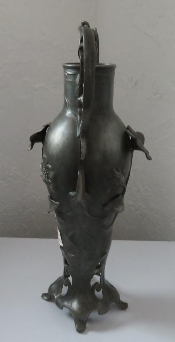 Art Nouveau Spelter Sculpture - 8