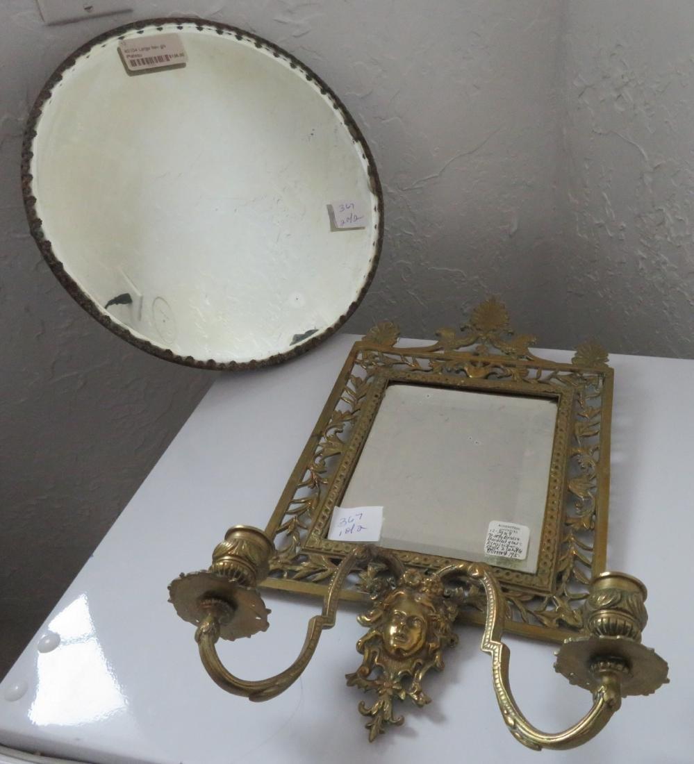 2 Bronze Mirrors