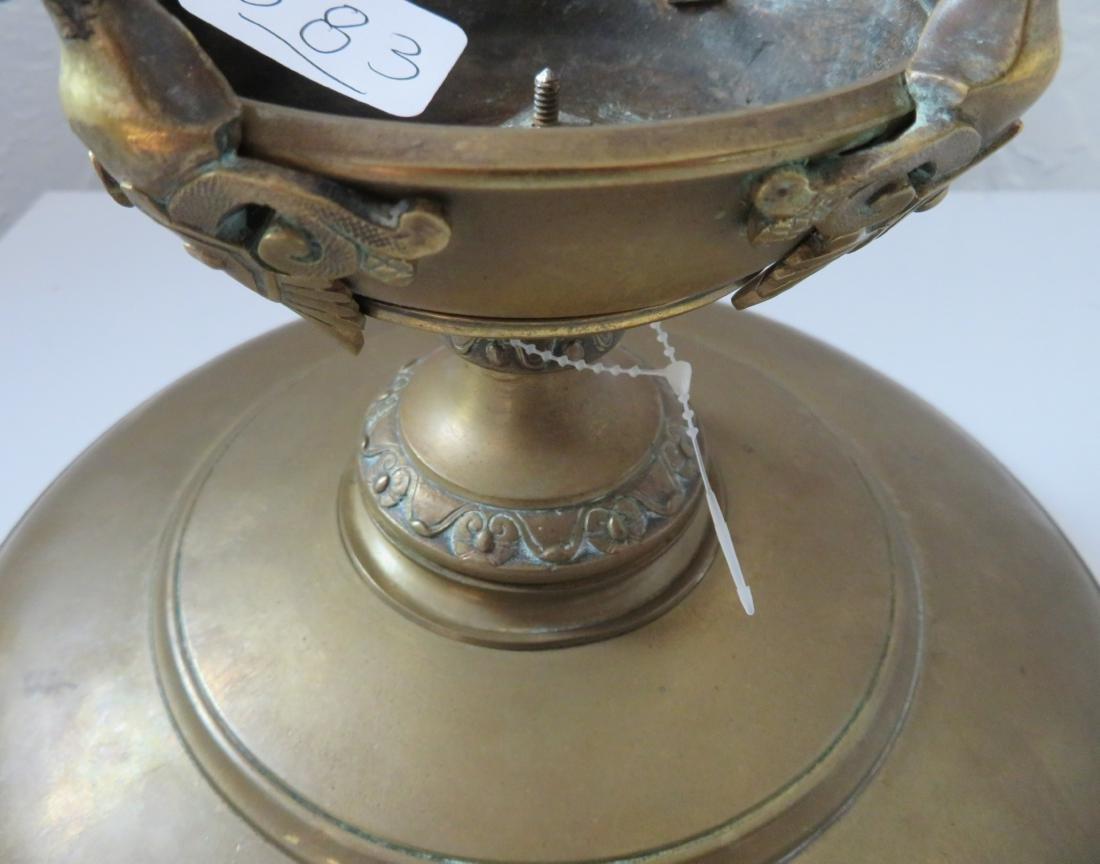 Antique French Bronze Tazza - 10