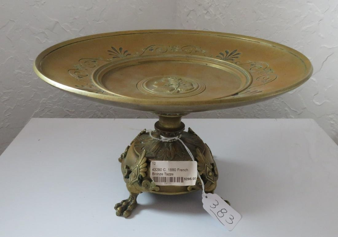 Antique French Bronze Tazza