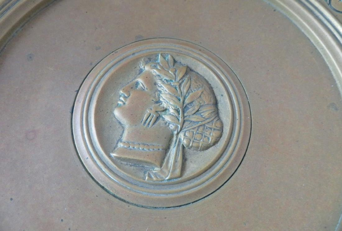 Antique French Bronze Tazza - 3