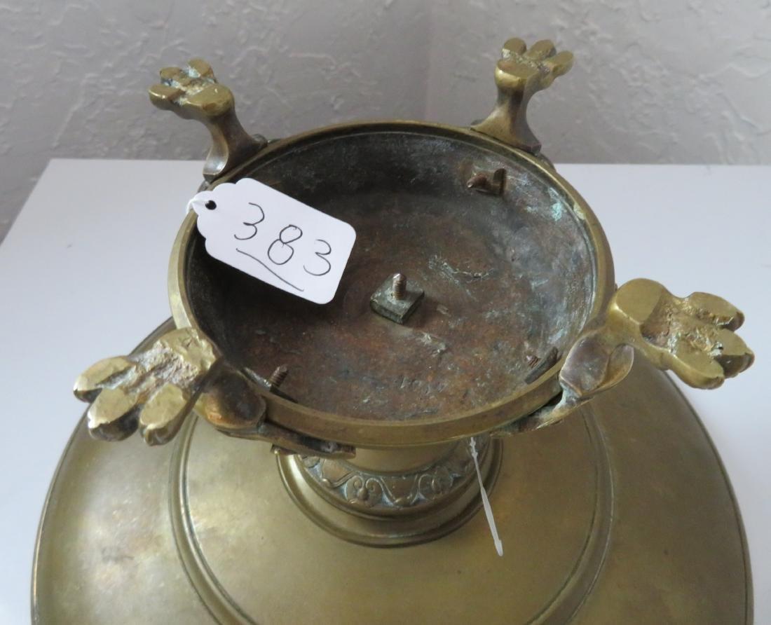 Antique French Bronze Tazza - 9