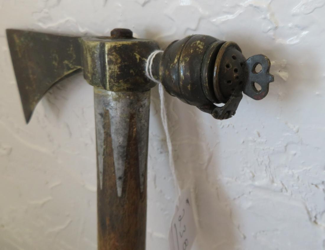 Antique Pipe Tomahawk - 5