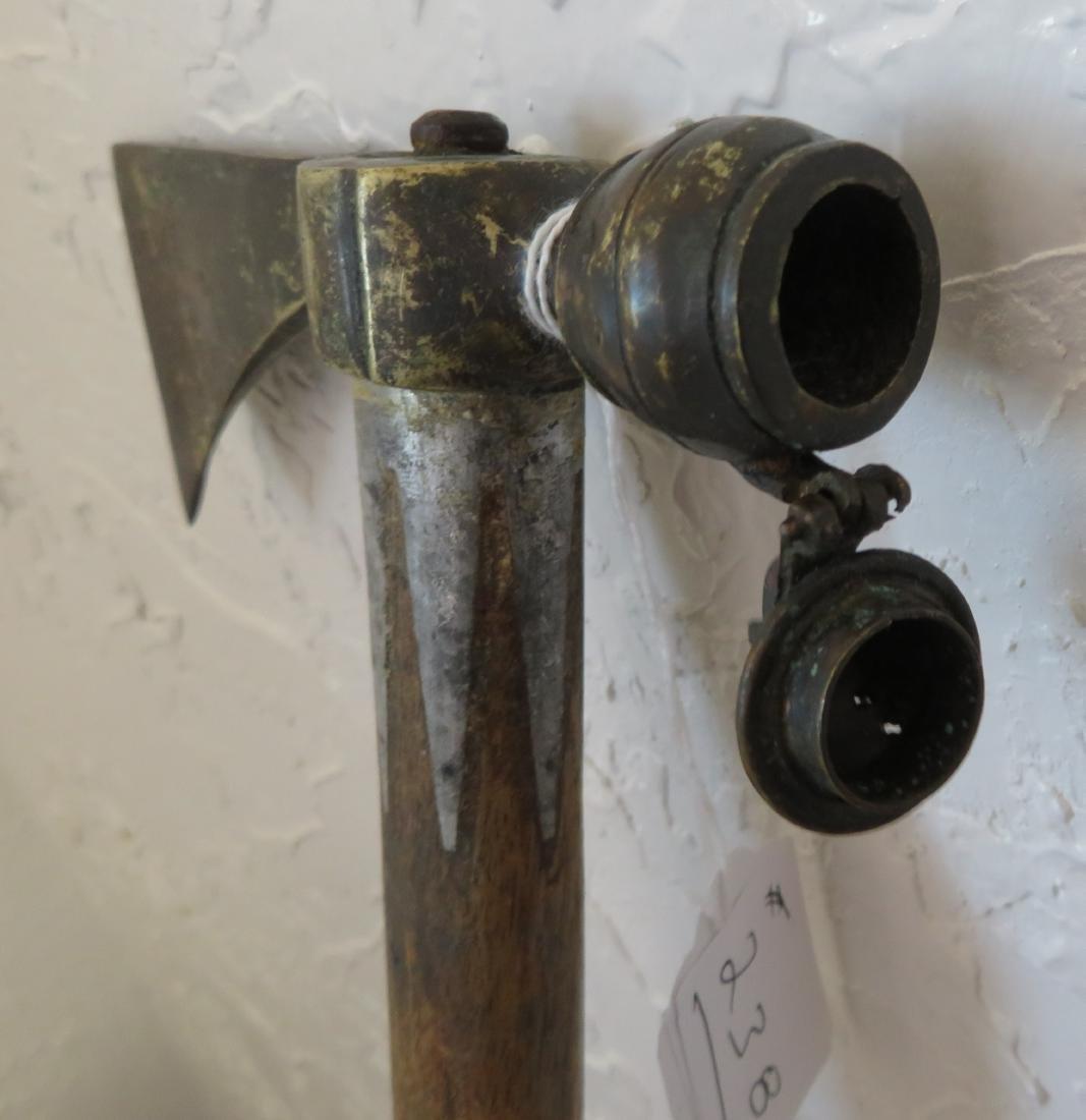 Antique Pipe Tomahawk - 6