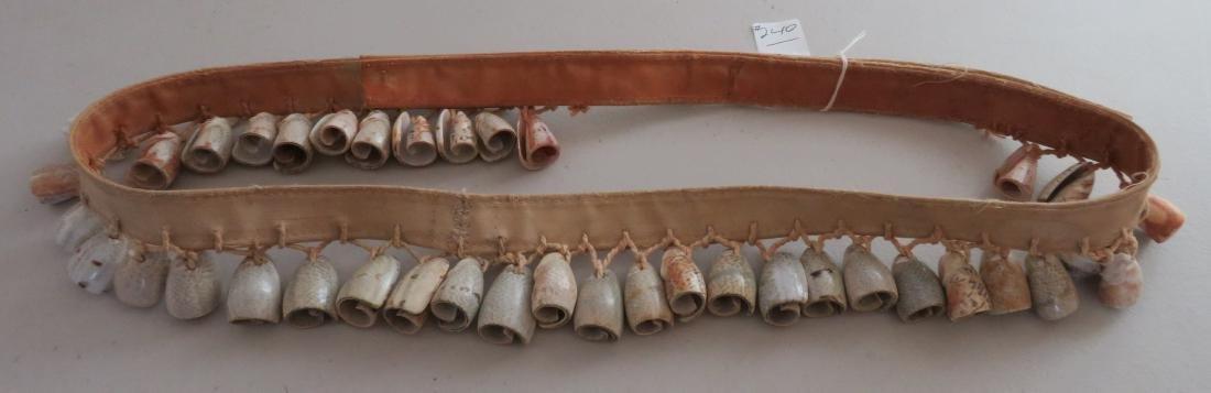 Pueblo Dance Rattle Belt - 10
