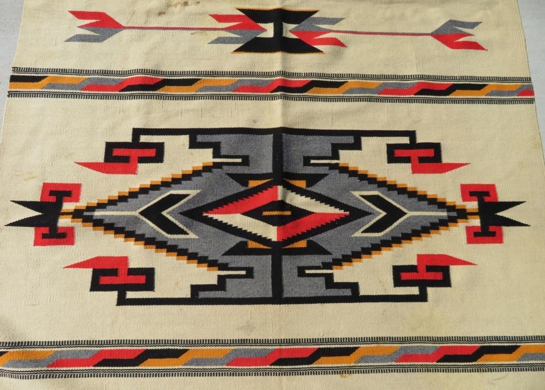 Fine Chimayo Weaving - 4