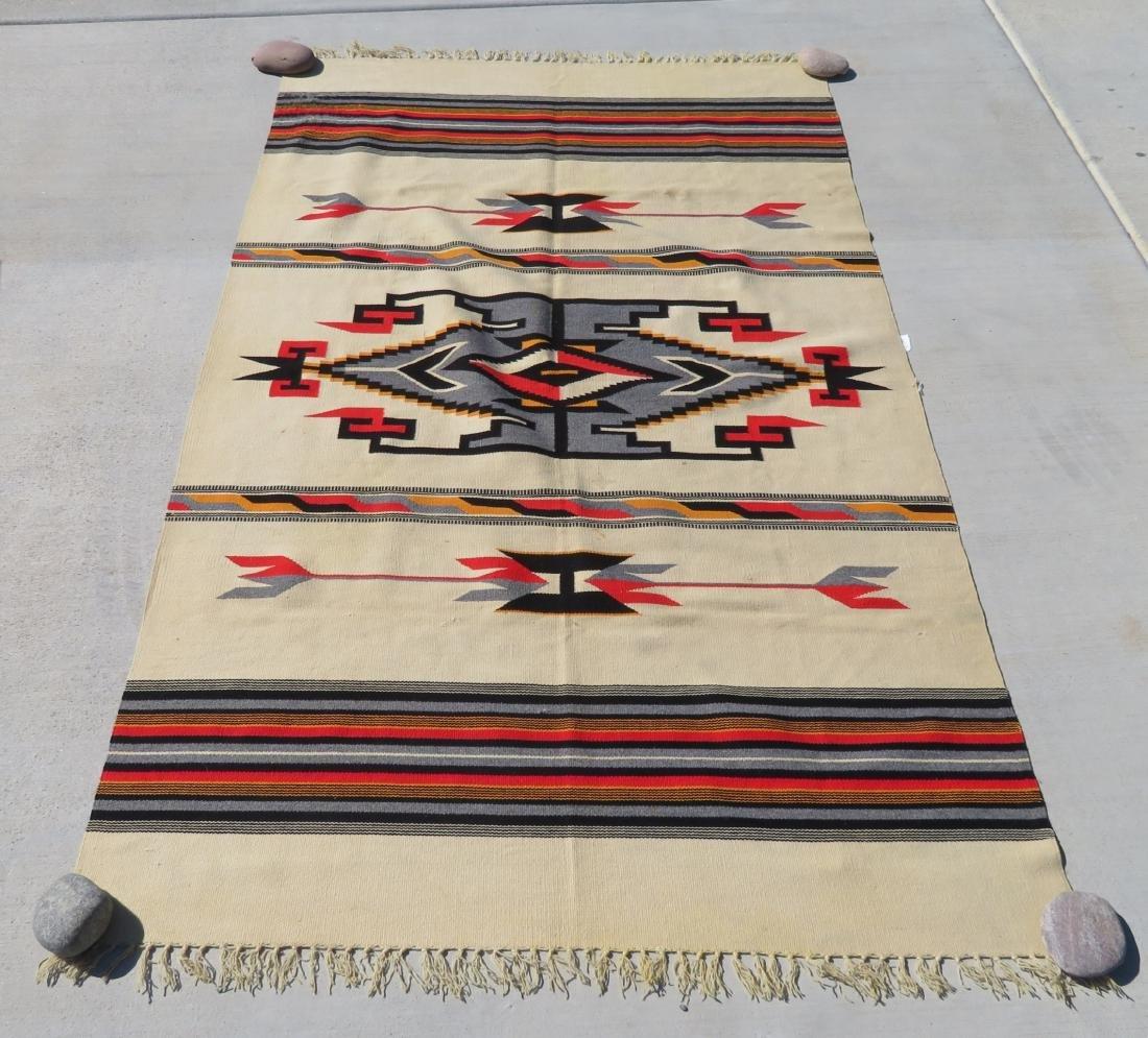 Fine Chimayo Weaving - 7
