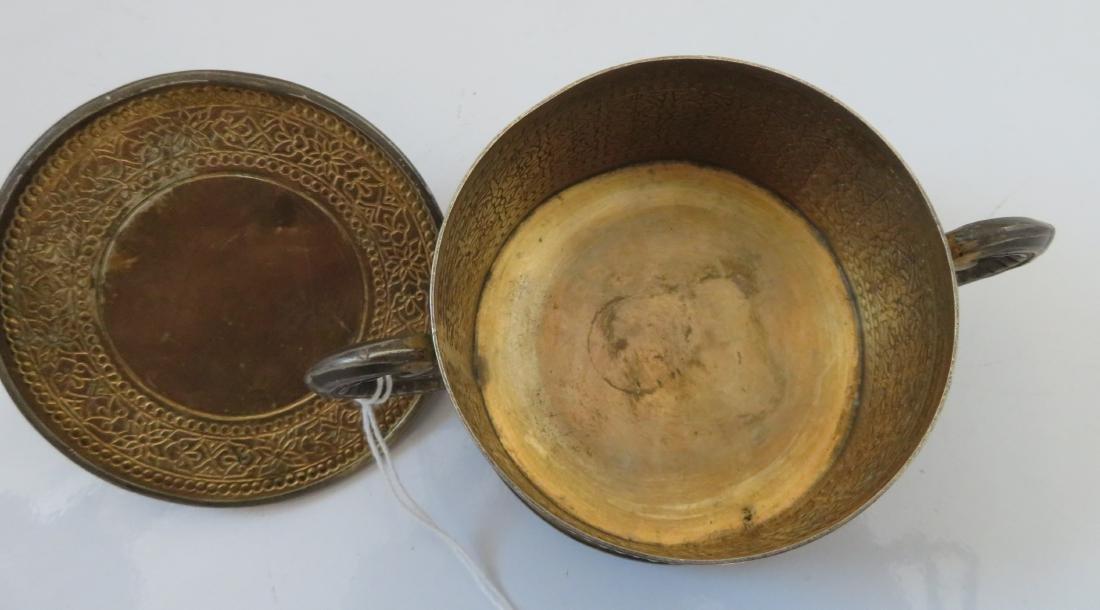 Enamel German Silver Box - 9