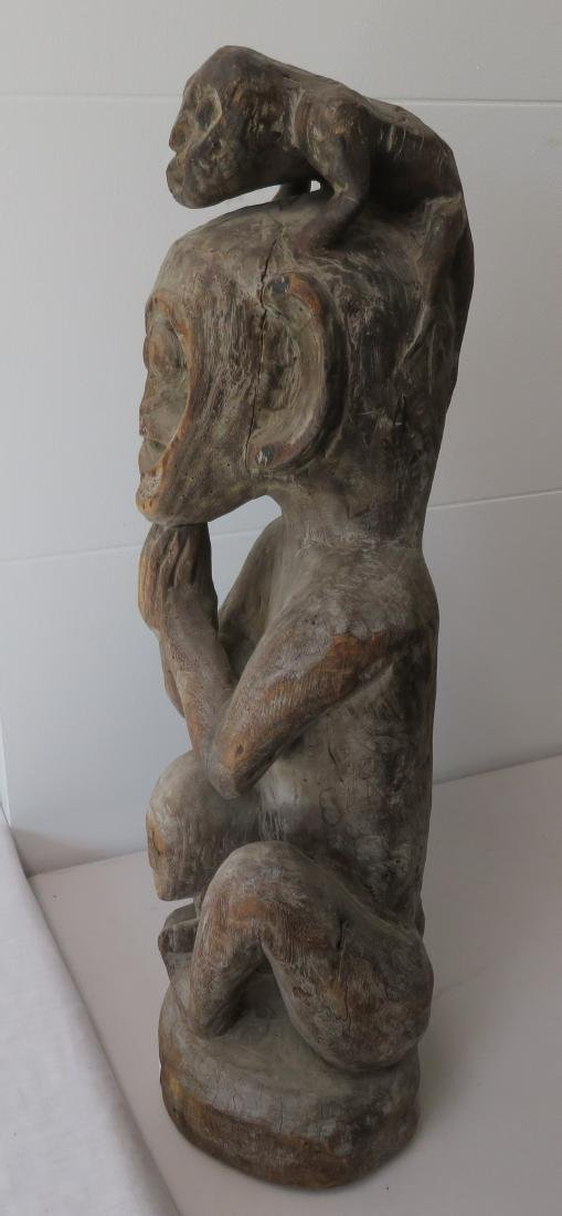 Early Indonesian Carving - 7