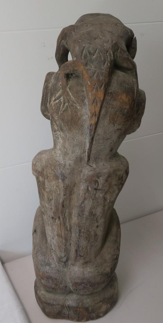 Early Indonesian Carving - 8